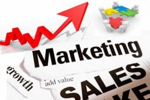 Business marketing sales